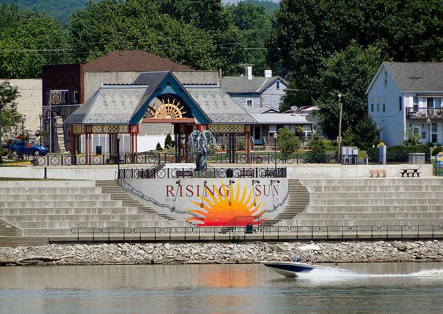 2013 Rising Sun riverfront park